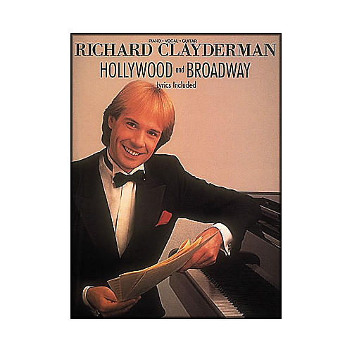 Hal Leonard Richard Clayderman - Hollywood & Broadway arranged for piano solo-thumbnail