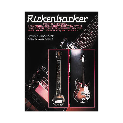 Centerstream Publishing Rickenbacker - Reference Book-thumbnail