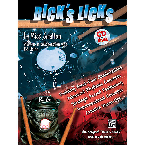 Alfred Rick's Licks (Drum Book/CD)