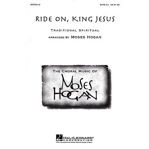 Hal Leonard Ride On, King Jesus SSAA Arranged by Moses Hogan