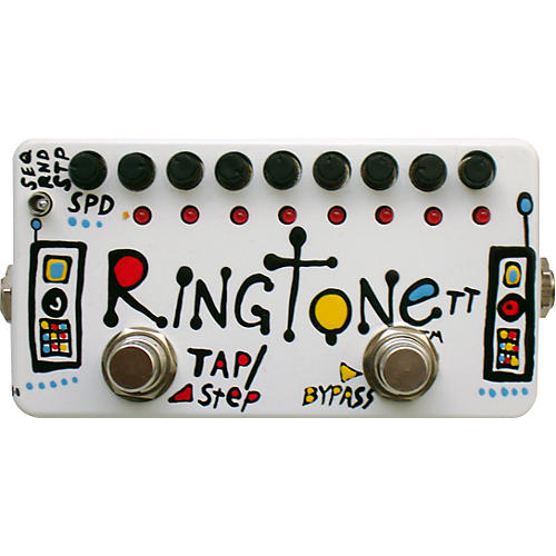 Zvex Ringtone TT Tap Tempo Distortion Guitar Effects Pedal