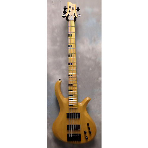 Schecter Guitar Research Riot 5 Session Electric Bass Guitar Natural
