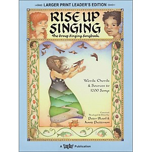 Hal Leonard Rise Up Singing Large Print Edition with Spiral Binding by Hal Leonard
