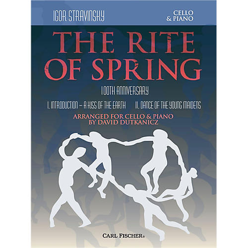 Carl Fischer Rite of Spring - Mvts. I & II for Cello & Piano (Book + Sheet Music)-thumbnail