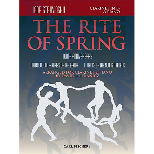 Carl Fischer Rite of Spring - Mvts. I & II for Clarinet & Piano (Book + Sheet Music)-thumbnail