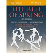 Carl Fischer Rite of Spring - Mvts. I & II for Trumpet & Piano (Book + Sheet Music)