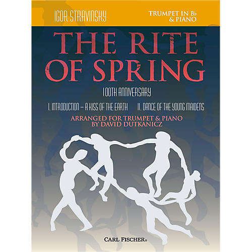 Carl Fischer Rite of Spring - Mvts. I & II for Trumpet & Piano (Book + Sheet Music)-thumbnail