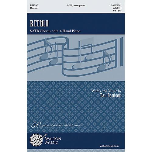 Walton Music Ritmo SATB