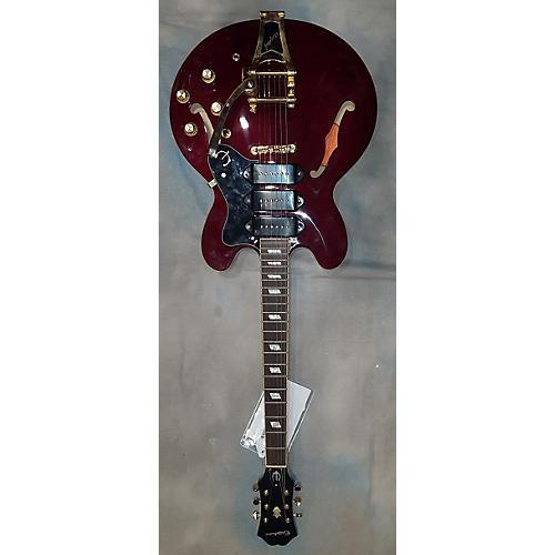 Epiphone Riviera Custom P93 Hollow Body Electric Guitar-thumbnail