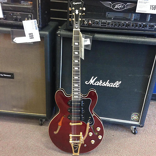 Epiphone Riviera Custom Royale P93 Hollow Body Electric Guitar-thumbnail