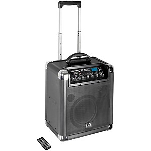LD Systems Road Jack 8 Active 8 inch Battery Bluetooth Loudspeader with Mixer by LD Systems