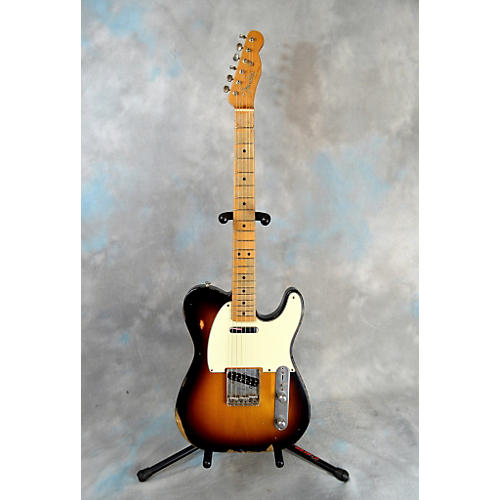 Fender Road Worn 1950S Telecaster Solid Body Electric Guitar-thumbnail