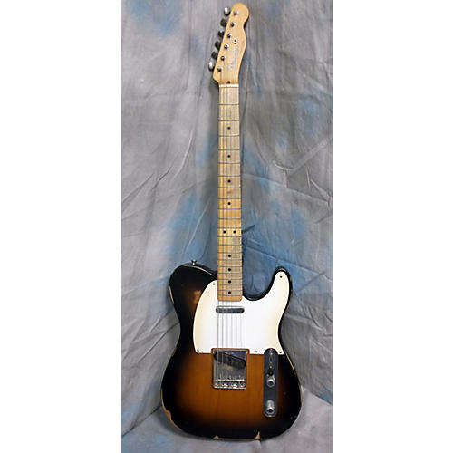 Fender Road Worn 1950S Telecaster Vintage Sunburst Solid Body Electric Guitar-thumbnail