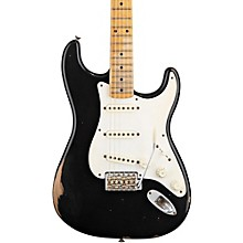 Road Worn '50s Stratocaster Electric Guitar Black
