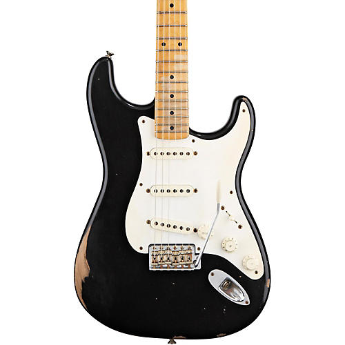 Fender Road Worn '50s Stratocaster Electric Guitar Black