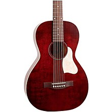 Art & Lutherie Roadhouse Parlor Acoustic-Electric Guitar Level 1 Tennessee Red
