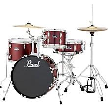 Pearl Roadshow 4-Piece Jazz Drum Set Level 1 Wine Red