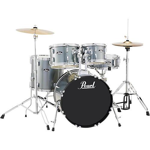 Pearl Roadshow 5-Piece Fusion Drum Set Charcoal Metallic