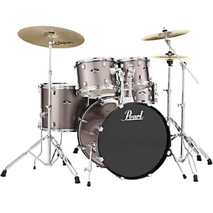 Pearl Roadshow Complete 5-Piece Drum Set with Hardware and Zildjian Planet ...