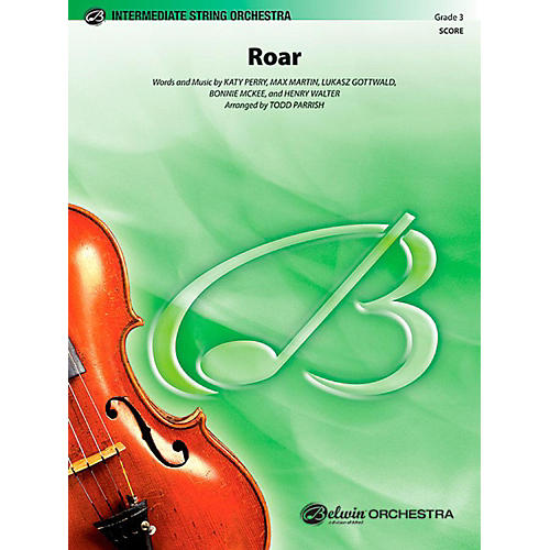 Alfred Roar String Orchestra Level 3 Set-thumbnail