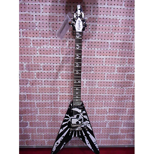 Epiphone Robb Flynn Signature Baritone Flying V Solid Body Electric Guitar-thumbnail