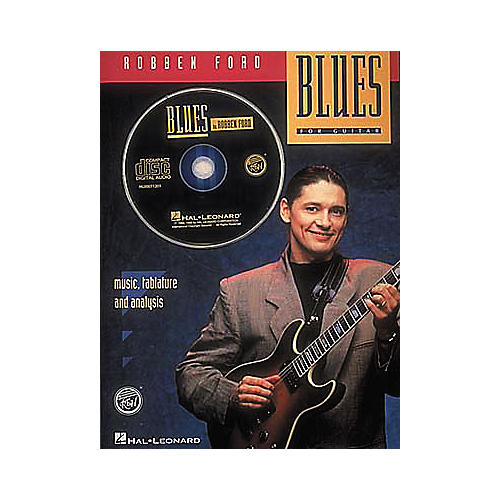 Hal Leonard Robben Ford - Blues (Book and CD Package)-thumbnail