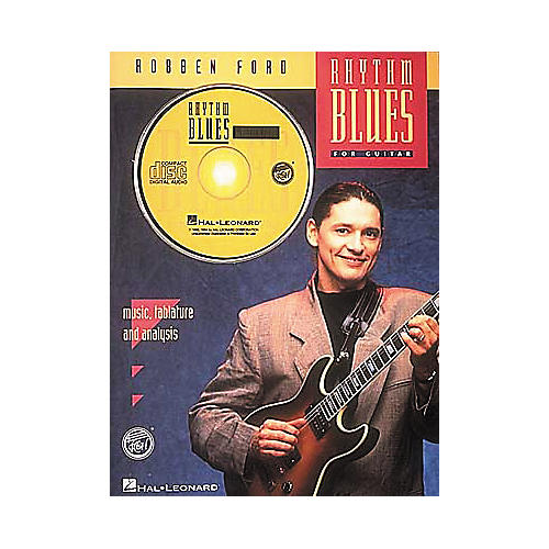 Hal Leonard Robben Ford - Rhythm Blues (Book and CD Package)-thumbnail