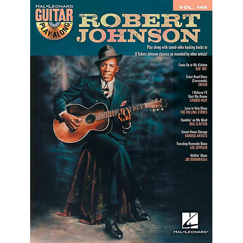 Hal Leonard Robert Johnson - Guitar Play-Along Volume 146 Book/CD-thumbnail