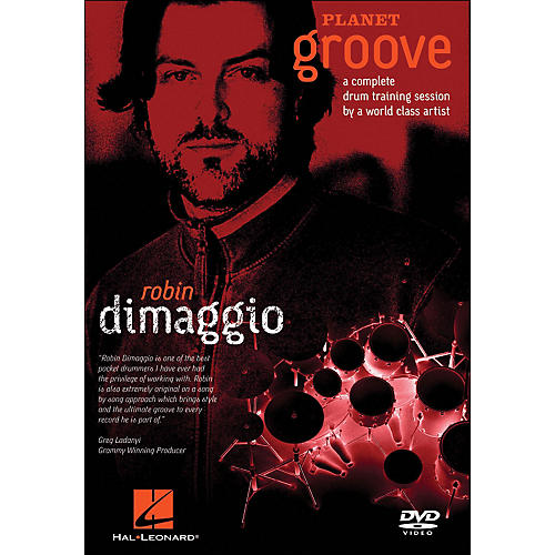 Hal Leonard Robin Dimaggio - Planet Groove (DVD)-thumbnail