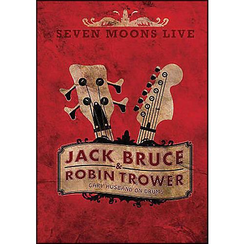 Hal Leonard Robin Trower & Jack Bruce Seven Moons Live Concert DVD Gary Husband On Drums-thumbnail