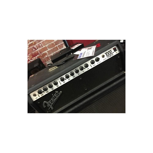 Fender RocPro 1000 Solid State Guitar Amp Head-thumbnail