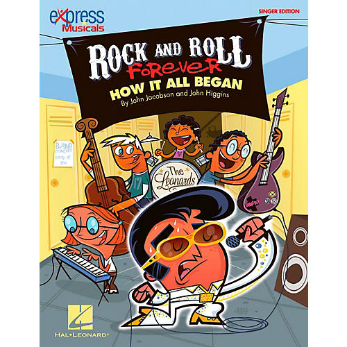 Hal Leonard Rock And Roll Forever - How It All Began (A 30-Minute Musical Revue) Singer's Edition 20 Pak-thumbnail
