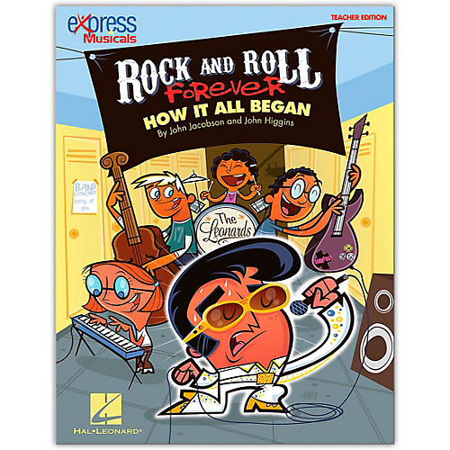 Hal Leonard Rock And Roll Forever - How It All Began (A 30-Minute Musical Revue) Teacher's Edition-thumbnail