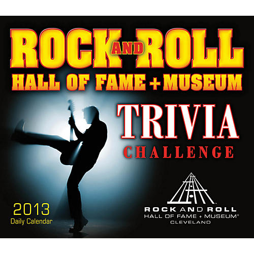 Hal Leonard Rock And Roll Hall Of Fame Trivia Challenge 2013 Daily Boxed Calendar