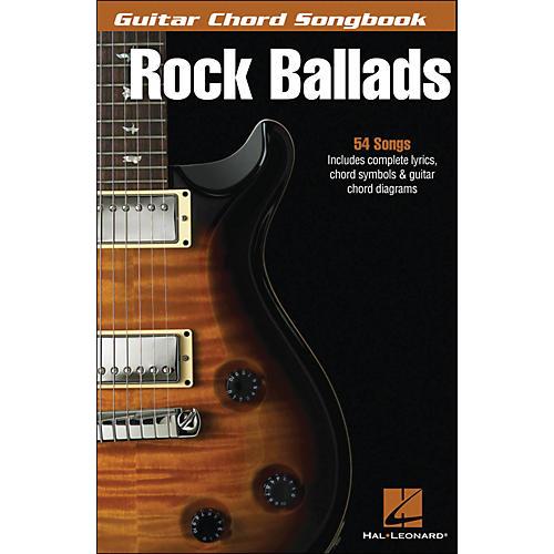 Hal Leonard Rock Ballads - Guitar Chord Songbook-thumbnail