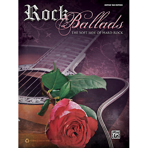 Alfred Rock Ballads Guitar Book-thumbnail