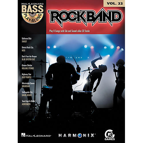 Hal Leonard Rock Band - Classic Rock Edition - Bass Play-Along Volume 22 Book/CD-thumbnail