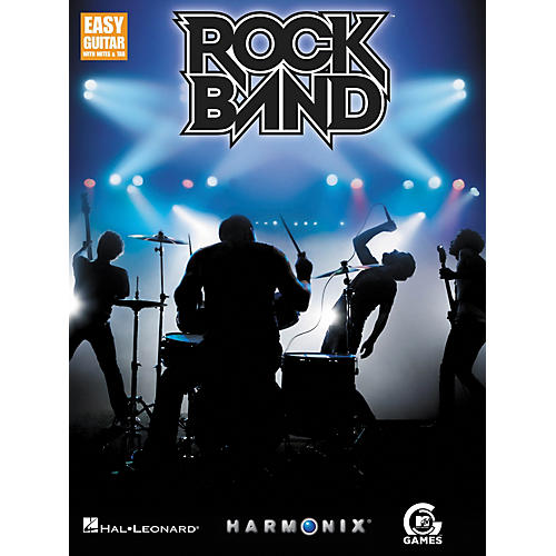 Hal Leonard Rock Band - Easy Guitar with Tab