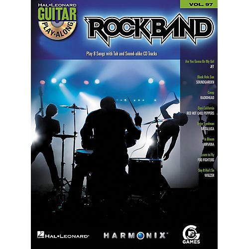 Hal Leonard Rock Band - Modern Rock Edition - Guitar Play-Along Volume 97 Book/CD Set-thumbnail