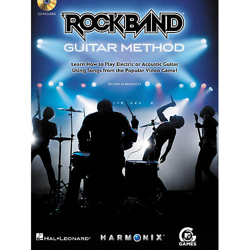 Hal Leonard Rock Band Guitar Method - Book/CD-thumbnail