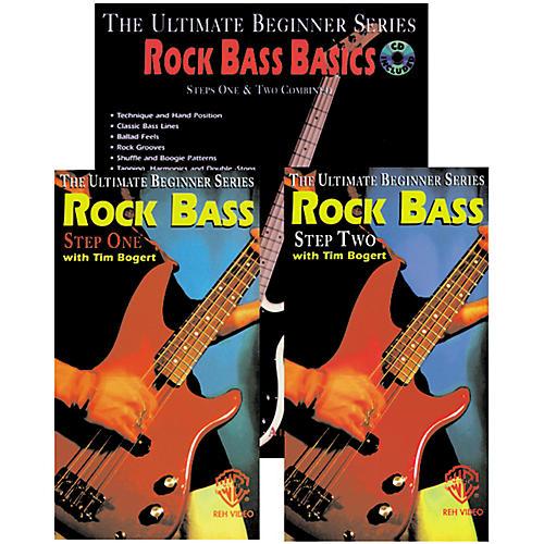 Alfred Rock Bass Basics Mega Pak Video