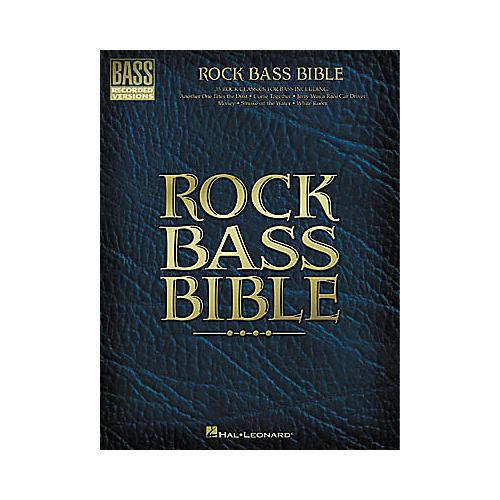 Hal Leonard Rock Bass Bible Tab Book
