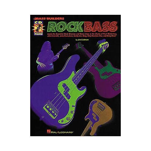 Hal Leonard Rock Bass (Book/CD)