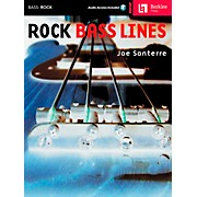Hal Leonard Rock Bass Lines Book/CD