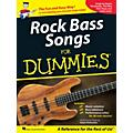 Hal Leonard Rock Bass Songs For Dummies thumbnail