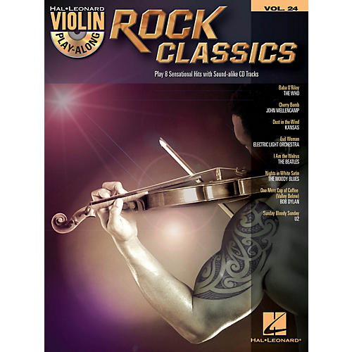Hal Leonard Rock Classics - Violin Play-Along Volume 24 Book/CD-thumbnail