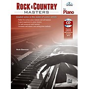 Alfred Rock & Country Masters for Piano - Book & CD