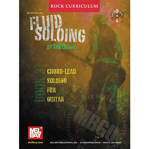 Mel Bay Rock Curriculum: Fluid Soloing Book 3 - Chord-Lead Soloing For Guitar (Book/CD)-thumbnail
