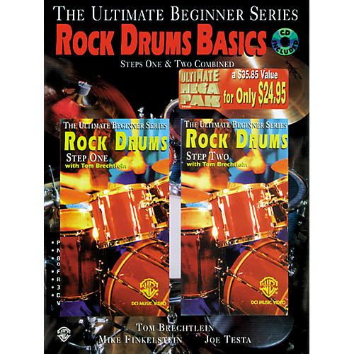 Warner Bros Rock Drum Basics Step Two Mega Pak