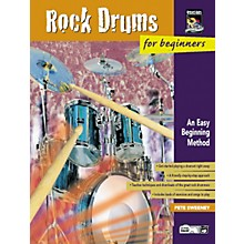 Alfred Rock Drums for Beginners Volumes 1 & 2 Book with DVD